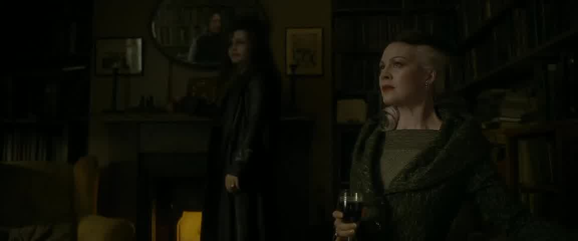 Harry Potter and the Half Blood Prince/Best scene/Helena Bonham Carter/Alan Rickman/Helen McCrory
