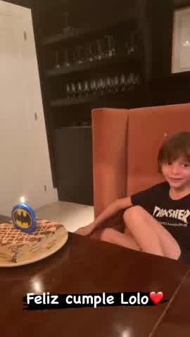 Lolo Tinelli cumplió 7 años: cómo fue la celebración familiar