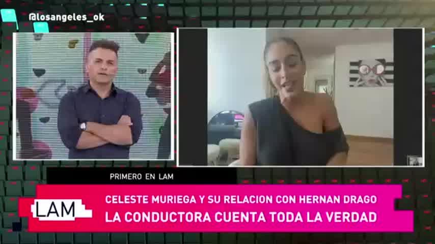 Hernán Drago y Celeste Muriega, juntos: la primera foto de la pareja en Córdoba