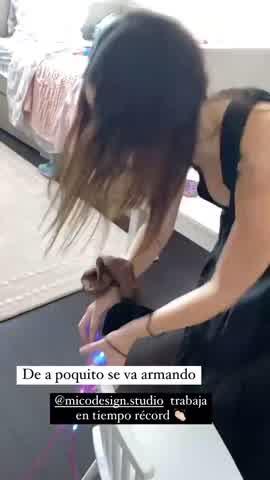 Rocío Guirao Díaz mostró parte de su nueva casa en Miami