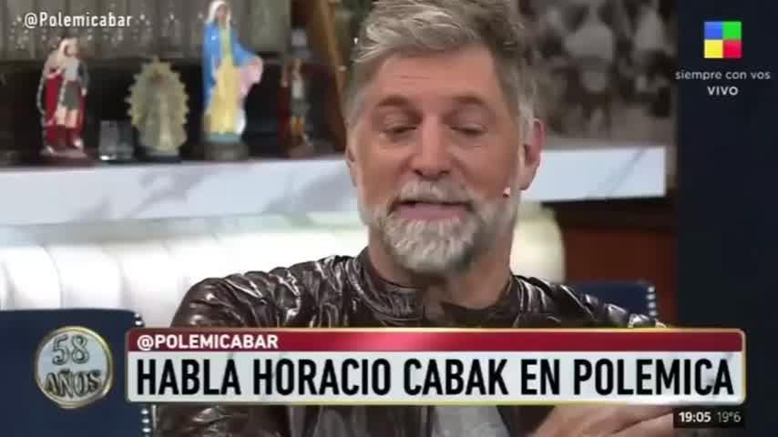 Horacio Cabak habló de su vínculo con Belén Lanosa, la supuesta tercera en discordia
