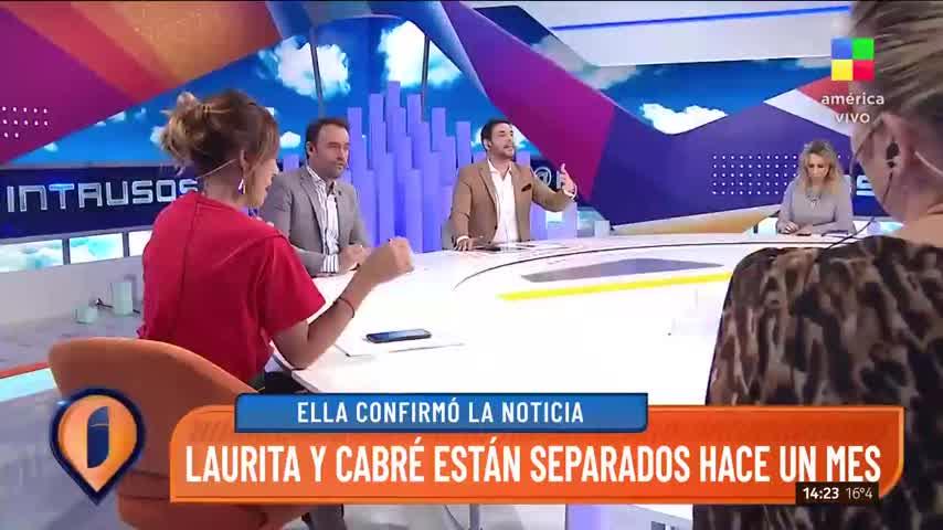 Revelan la propuesta que hizo Nico Cabré a Laurita Fernández antes de la ruptura
