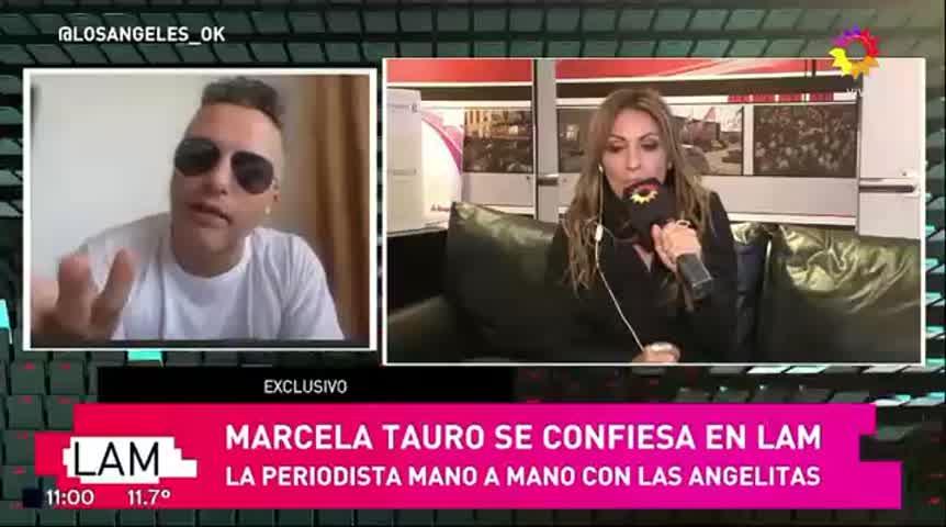 Marcela Tauro detalló cómo es su relación con Jorge Rial y Luis Ventura