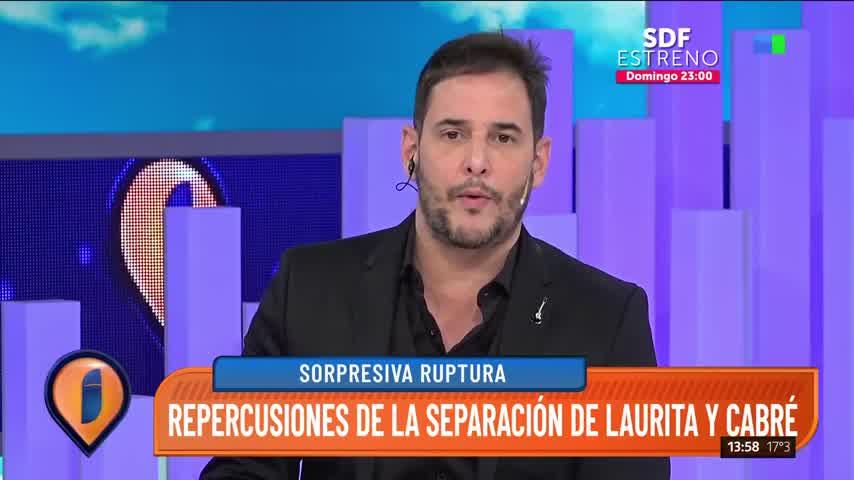 """Laurita Fernández habló luego de separarse de Cabré: \""""Teníamos ganas de hacer cosas distintas\"""""""