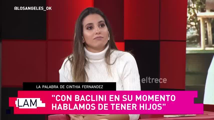 Martín Baclini le avisó a Cinthia Fernández desde Miami que se había hecho un tatuaje en el pene