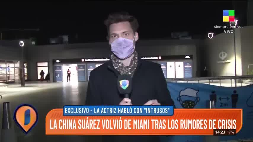 La China Suárez habló de Sofía Sarkany