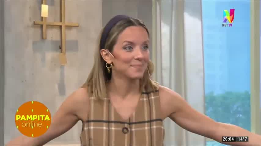 Pampita, emocionada por el embarazo de una de sus panelistas
