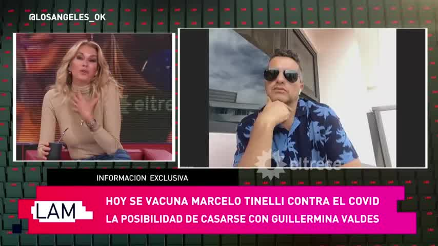 ¡Ella dice NO! Marcelo Tinelli reveló que se quiere casar con Guillermina Valdez y hasta hay anillo