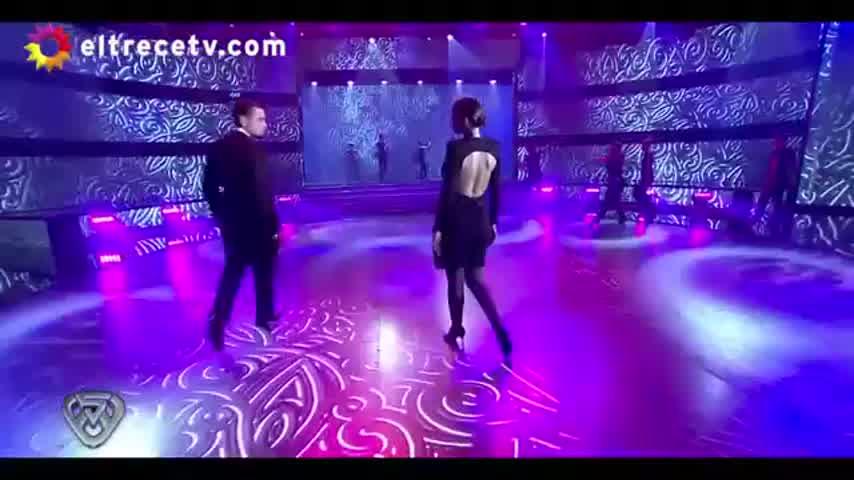 Pampita en el debut de ShowMatch