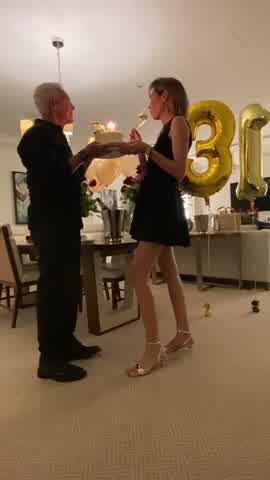 Eduardo Costantini le festejó el cumpleaños a Elina Fernández