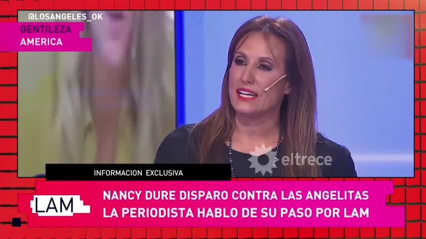 Nancy Duré y Yanina Latorre en LAM