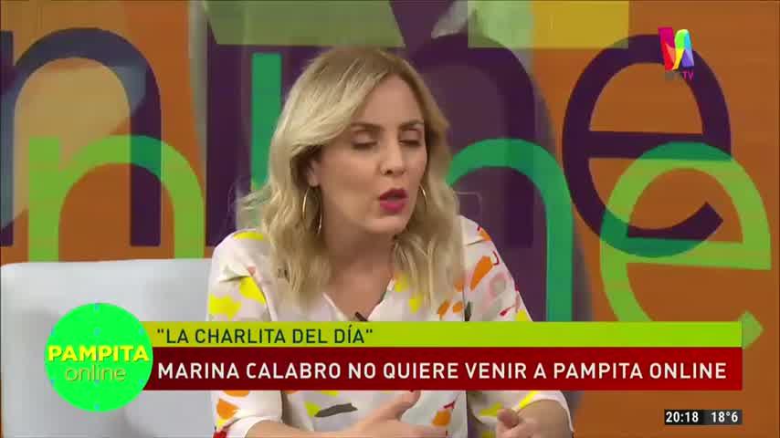 Pampita reveló si invitaría a Marina Calabró a su programa