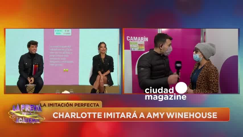 """DOLIDA CON EL JURADO Charlotte Caniggia: \""""No tiene sentido hablar de Pampita\"""""""