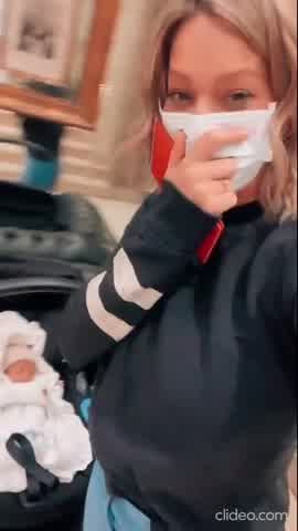 Noelia Marzol y su hijo Donatello recibieron el alta