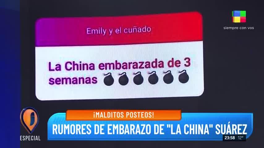La China estaria Embarazada
