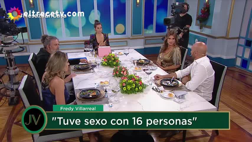 Juana indagó sobre una experiencia de sexo grupal que tuvo Fredy Villarreal