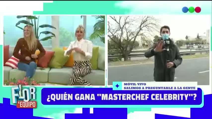Dani La Chepi se cruzó con su novio en vivo