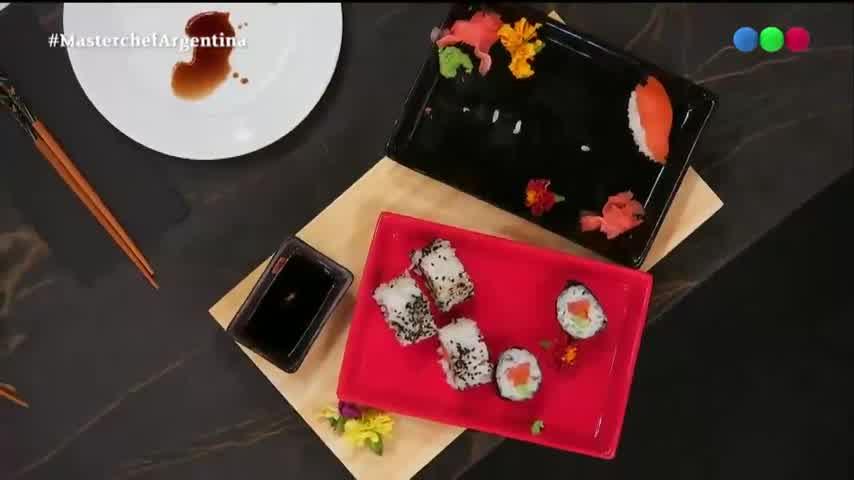 Sol Pérez hizo Sushi