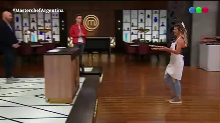Sol Pérez hizo Sushi en Masterchef