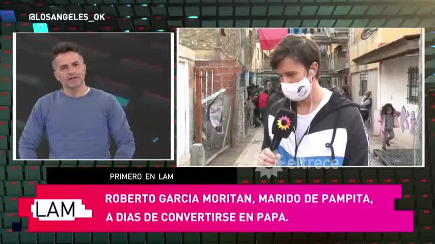 ROBERTO GARCÍA MORITÁN EN FUERTE APACHE Y A PUNTO DE SER PAPÁ, HABLÓ DE TODO EN LAM