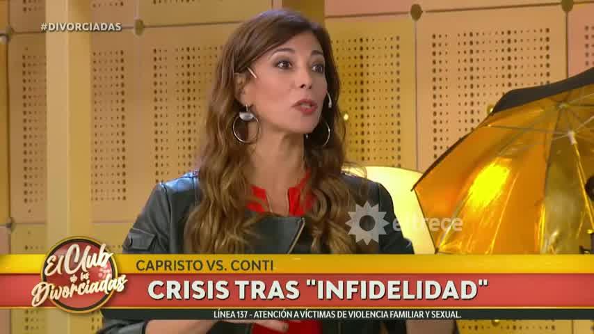 Ximena Capristo y Carlos Conti