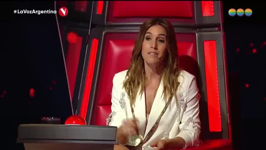 La Sole se emocionó en La Voz Argentina