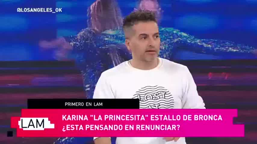 """Ángel de Brito, contra Karina La Princesita: \""""Es soberbia\"""""""