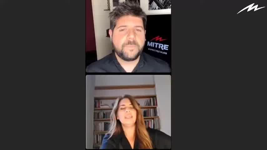 #MitreEspectáculo   Hablamos con Mey Scapola
