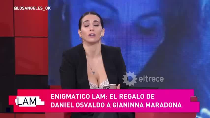 El lujoso y carísimo regalo que le hizo Daniel Osvaldo a Giannina Maradona
