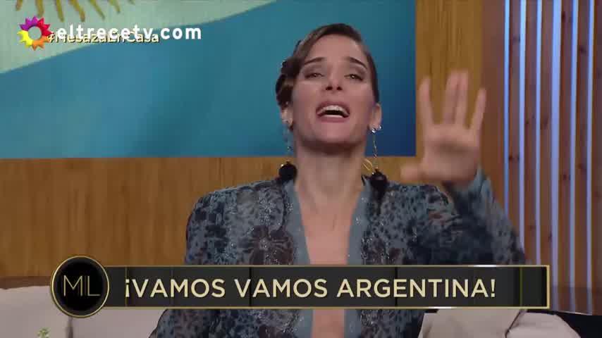 Tras el error sobre la fecha patria, Juana Viale pidió disculpas en Twitter