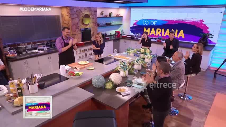La despedida de Lo de Mariana