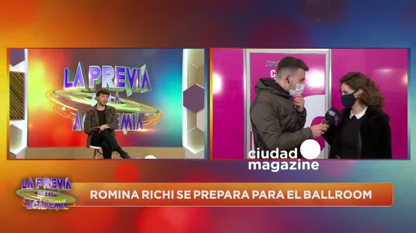 Romina Ricci habló de su relación íntima con Gonzalo Valenzuela