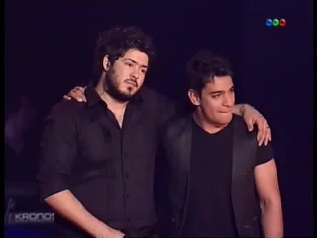 Gustavo Corvalan es el Gran Ganador de La Voz Argentina 2012