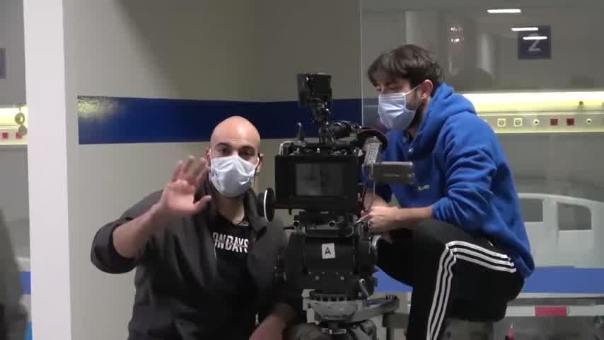 Doctor Milagro: se filtraron dos videos del backstage 2
