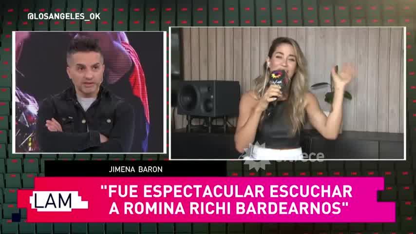 Luciano Castró reaccionó a los rumores de romance con Jimena Barón