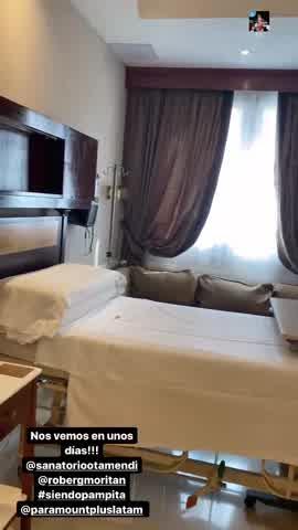 Pampita mostró en su último control: mostró detalles de la habitación en donde dará a luz