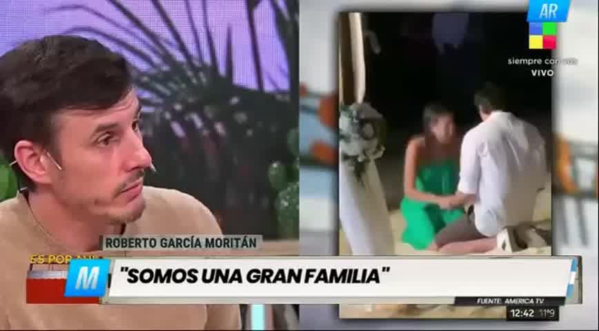 Roberto García Moritán se sinceró sobre su vínculo con Benjamín Vicuña