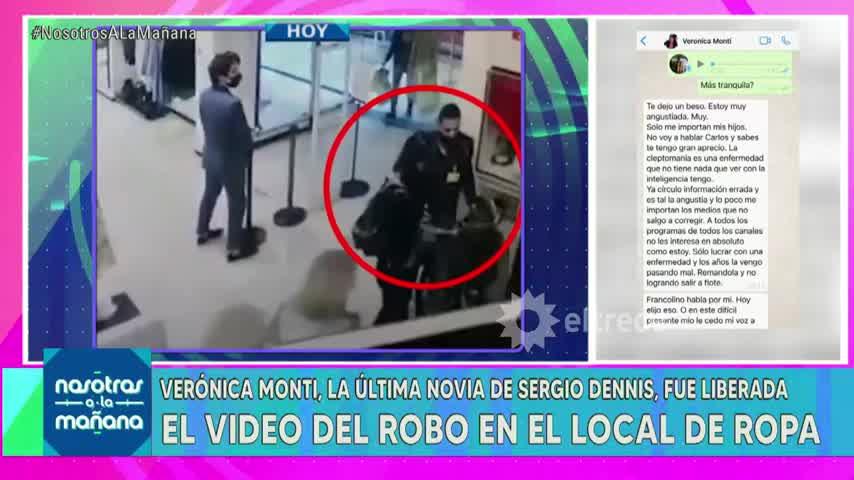 La palabra de Verónica Monti tras robar en un tienda y quedar detenida por unas horas