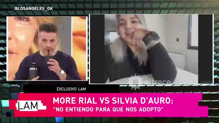 Morena Rial habló de su mamá