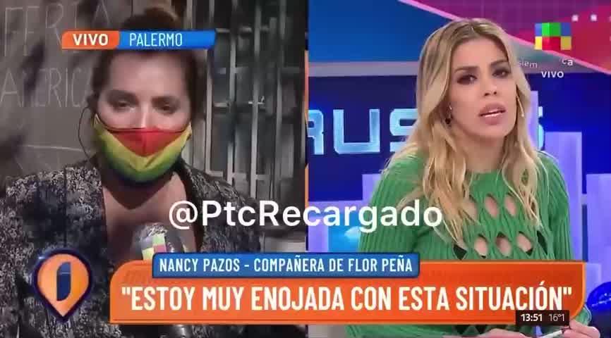 El móvil de Nancy Pazos en Intrusos
