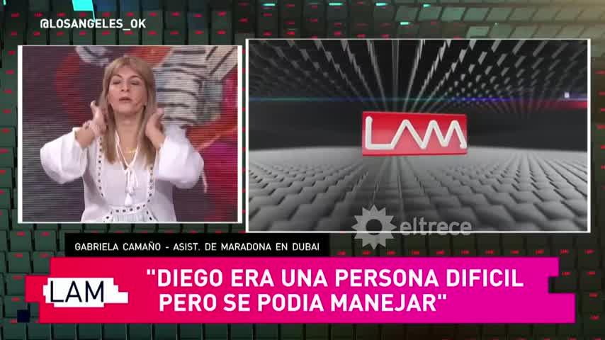 Rocío Oliva no dejó entrar a Verónica Ojeda y a Dieguito en Dubai y Maradona nunca supo de la visita