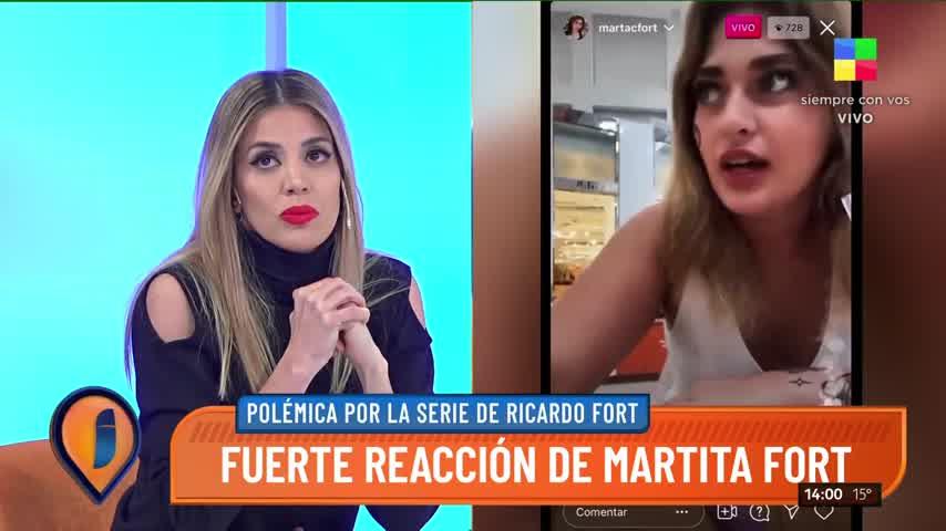 Virginia Gallardo estalló en llanto en Intrusos: el descargo por la serie de Ricardo Fort