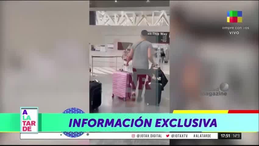 Rocío Oliva de vacaciones con su nuevo novio en Miami
