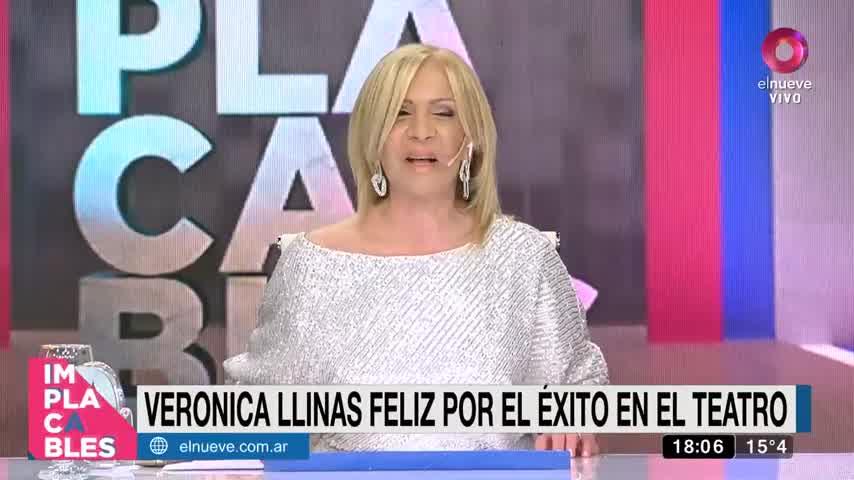 Verónica Llinás: No tengo ningún toc, tengo manías
