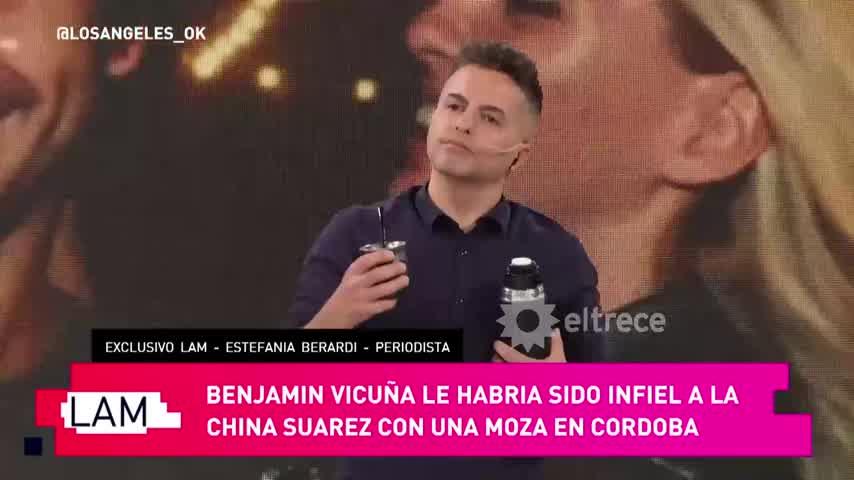 Ángel de Brito habló de la supuesta infidelidad de Benjamín Vicuña y lo defenestró