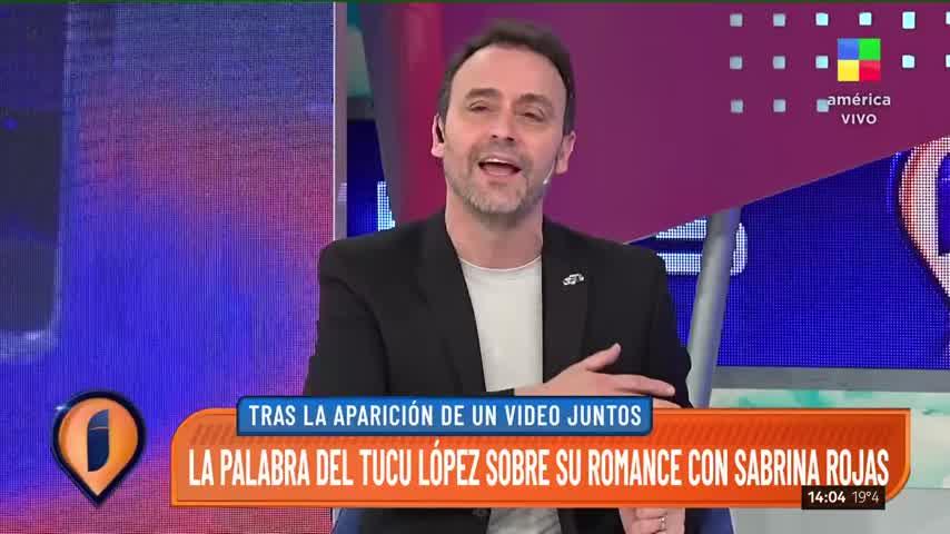 El Tucu López habló de su romance con Sabrina Rojas