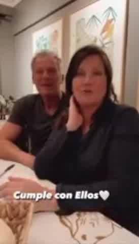 Paula Chaves mostró a su mamá y sorprendió con su parecido
