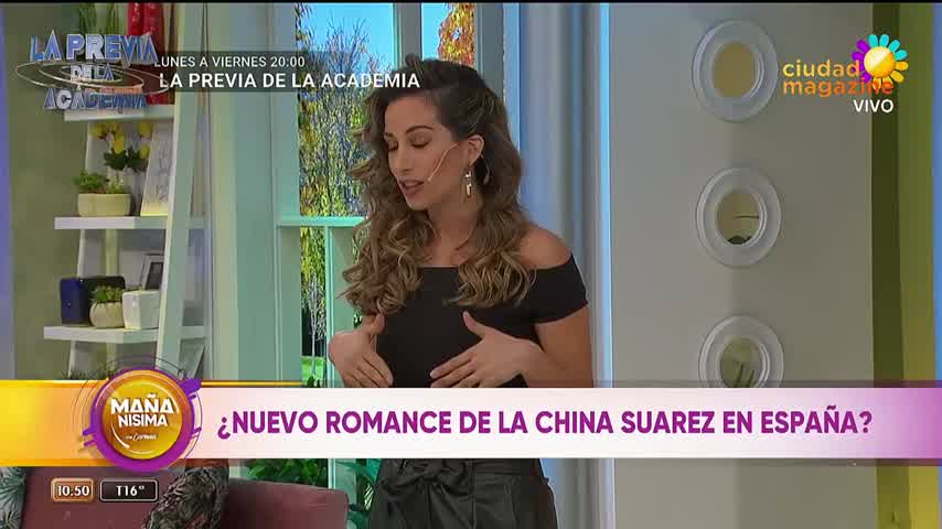 Javier De Miguel sería la nueva pareja de la China Suárez