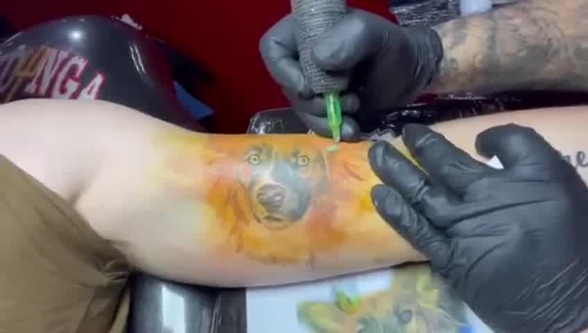 El tatuaje de Axel en homenaje tras una dolorosa pérdida