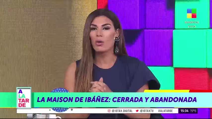 La Maison de Ibáñez: cerrada y abandonada